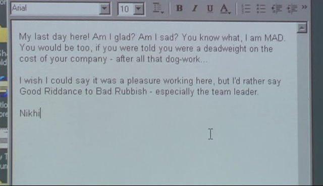 Funny Resignation Letter  Funny Resignation Letters