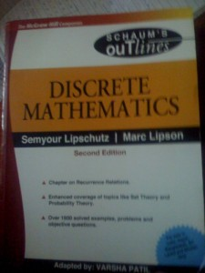 Discrete mathematics book - and much more to read