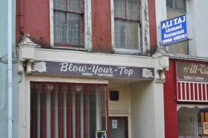 Blow your top-hair style saloon