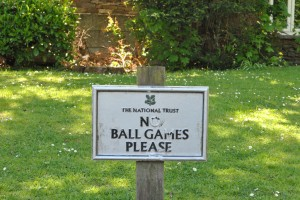 No Ball Games Please...